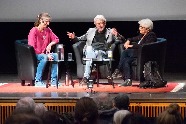 Sofia Wrangsjö, Torbjörn Tännsjö och Carol Tishelman